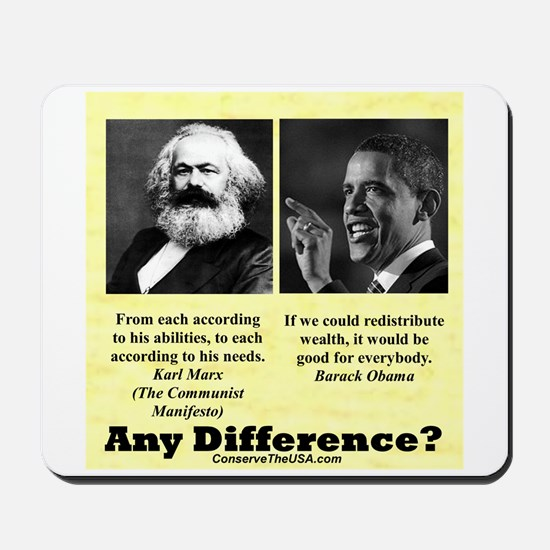 """Any Difference?"" Mousepad"