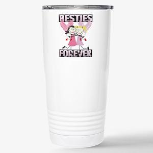 Best Friends Forever Stainless Steel Travel Mug
