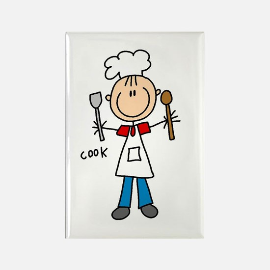 Professions Cook Rectangle Magnet (100 pack)