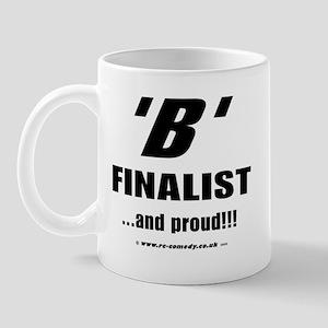 B Finalist Mug