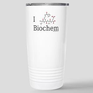 I love Biochem Stainless Steel Travel Mug