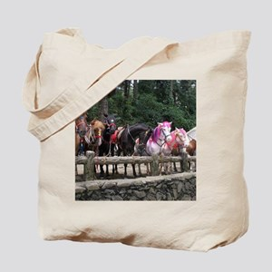 Wright Park Horses, Baguio City - Philipp Tote Bag