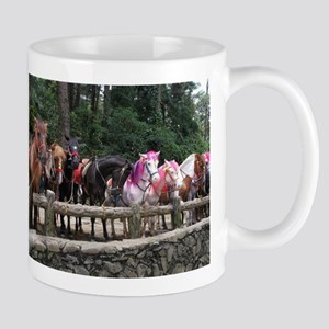 Wright Park Horses, Baguio City - Philippines Mugs