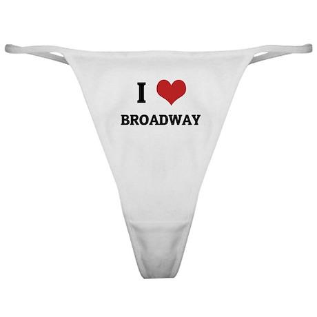 I Love Broadway Classic Thong