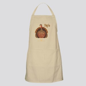 Pap's Little Turkey BBQ Apron