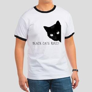 Black cats rule Ringer T