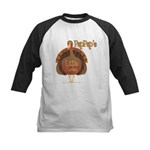 PapPap's Little Turkey Kids Baseball Jersey