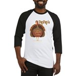 PapPap's Little Turkey Baseball Jersey