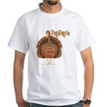 PapPap's Little Turkey White T-Shirt
