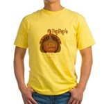 PapPap's Little Turkey Yellow T-Shirt