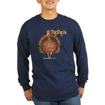 PapPap's Little Turkey Long Sleeve Dark T-Shirt