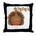PapPap's Little Turkey Throw Pillow