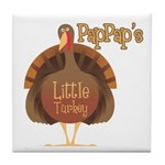 PapPap's Little Turkey Tile Coaster