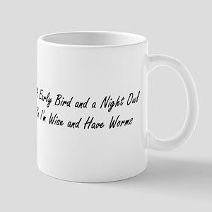 Early Bird Wise Owl Mug