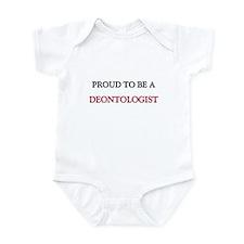 Proud to be a Deontologist Infant Bodysuit