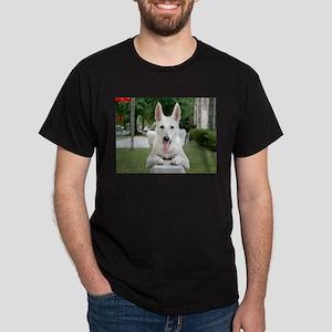 White German Shepard Dark T-Shirt