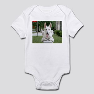 White German Shepard Infant Bodysuit