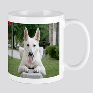 White German Shepard Mug