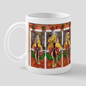 Fjord Horse Ho Ho Ho Mug