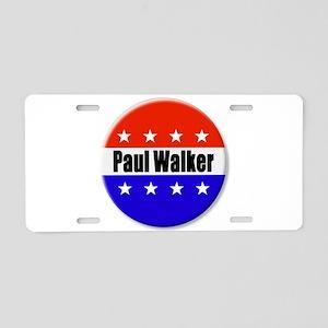 Paul Walker Aluminum License Plate