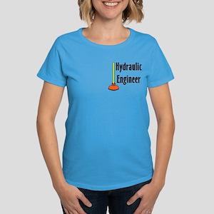 Hydraulic Engineer Plunger Women's Dark T-Shirt