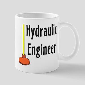 Hydraulic Engineer Plunger Mug
