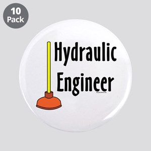 """Hydraulic Engineer Plunger 3.5"""" Button (10 pack)"""
