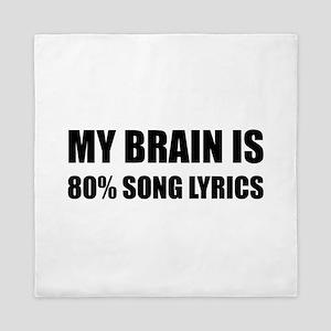 Brain Song Lyrics Queen Duvet