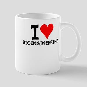 I Love Bioengineering Mugs