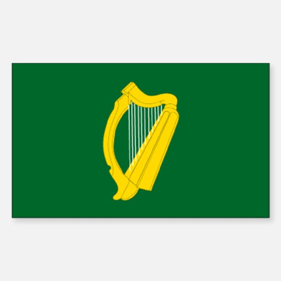 """""""Leinster Provincial Flag"""" Rectangle Decal"""