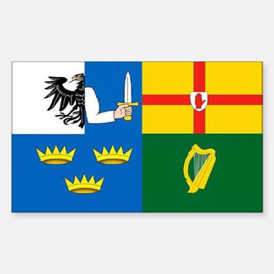 """""""The Four Provinces"""" Rectangle Decal"""