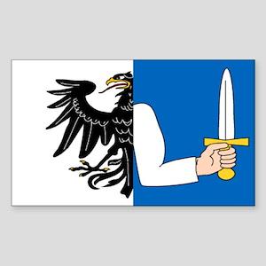 """Connacht Provincial Flag"" Rectangle Sticker"