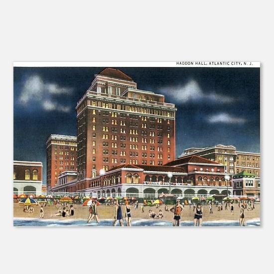 Atlantic City NJ Postcards (Package of 8)
