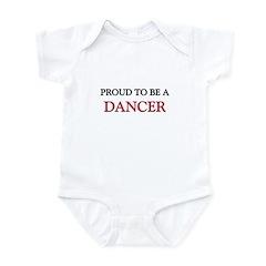 Proud to be a Dancer Infant Bodysuit