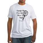 Change How You See Fitted T-Shirt