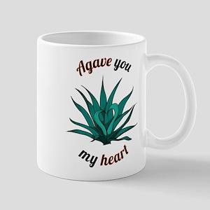 agave you my heart Mugs
