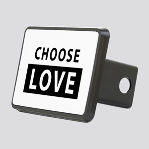 CHOOSE LOVE Rectangular Hitch Cover