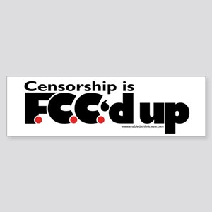 Anti-Censorship Bumper Sticker