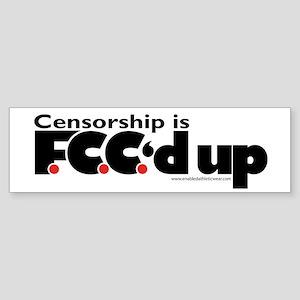 Anti-Censorship Bumper Sticker