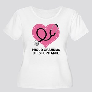 Proud Grandma Of A Nurse Doctor Plus Size T-Shirt