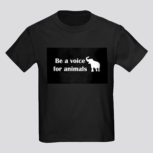 Be a voice Kids Dark T-Shirt
