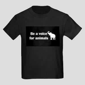 Be a voice Kids Dark T-Shirt