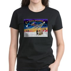 3 Spinones Women's Dark T-Shirt