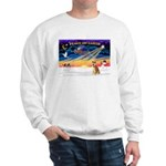 XmasSunrise/Shiba Inu 3 Sweatshirt