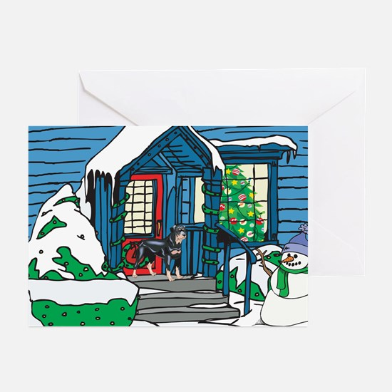 Welcome Rottweiler Greeting Cards (Pk of 20)