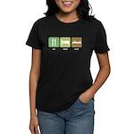 Eat Sleep Crash Cars Women's Dark T-Shirt