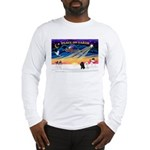 XmasSunrise/2 Poodles Long Sleeve T-Shirt