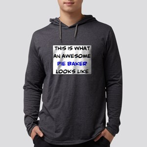 awesome pie baker Mens Hooded Shirt
