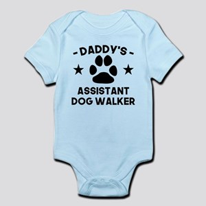 Daddys Assistant Dog Walker Body Suit