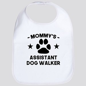 Mommys Assistant Dog Walker Baby Bib